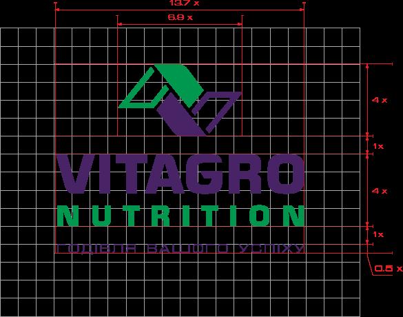 Разработка логотипа и фирменного стиля для компании Vitagro Nutrition портфолио