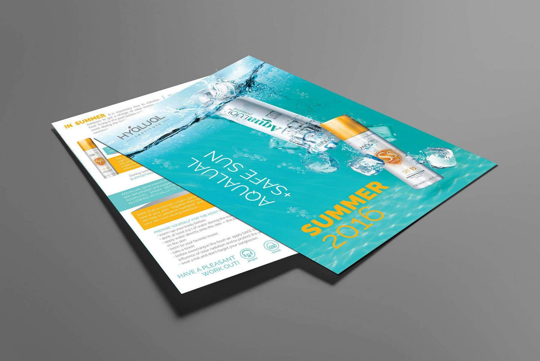 Изготовление дизайна листовки