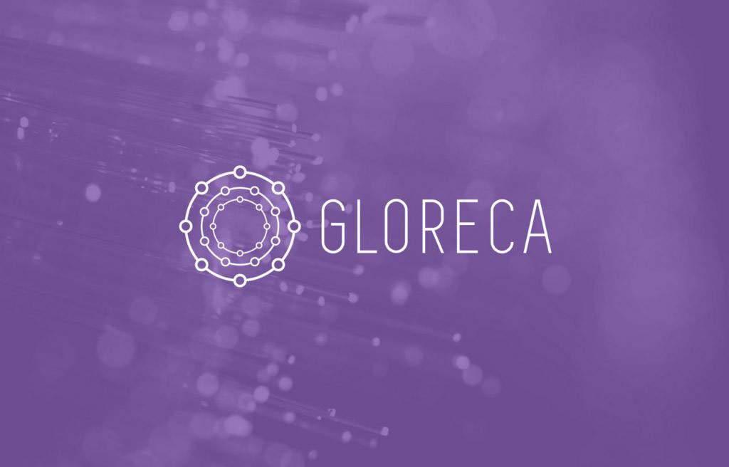 Разработка логотипа и фирменного стиля для компании Gloreca