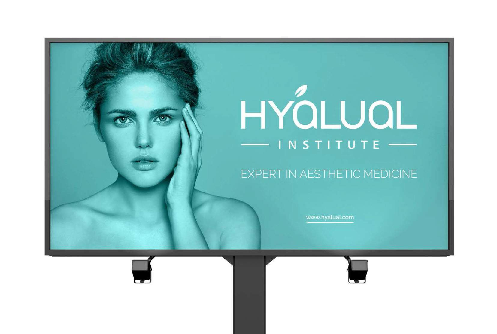 Logotype and corporate identity design for Institute Hyalual Switzerland. Re-branding. portfolio