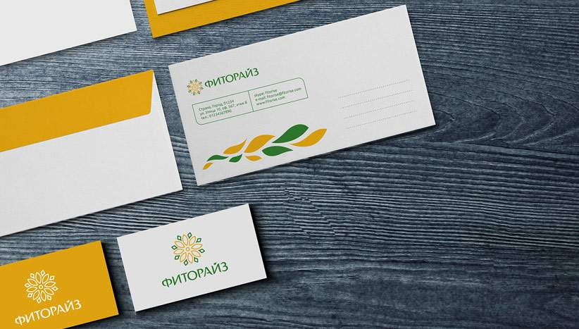 Logotype and corporate identity design development for Fitorise company portfolio