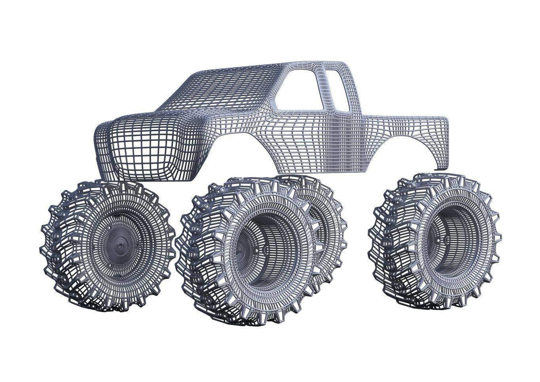 3d визуализация автомобиля из рапса портфолио