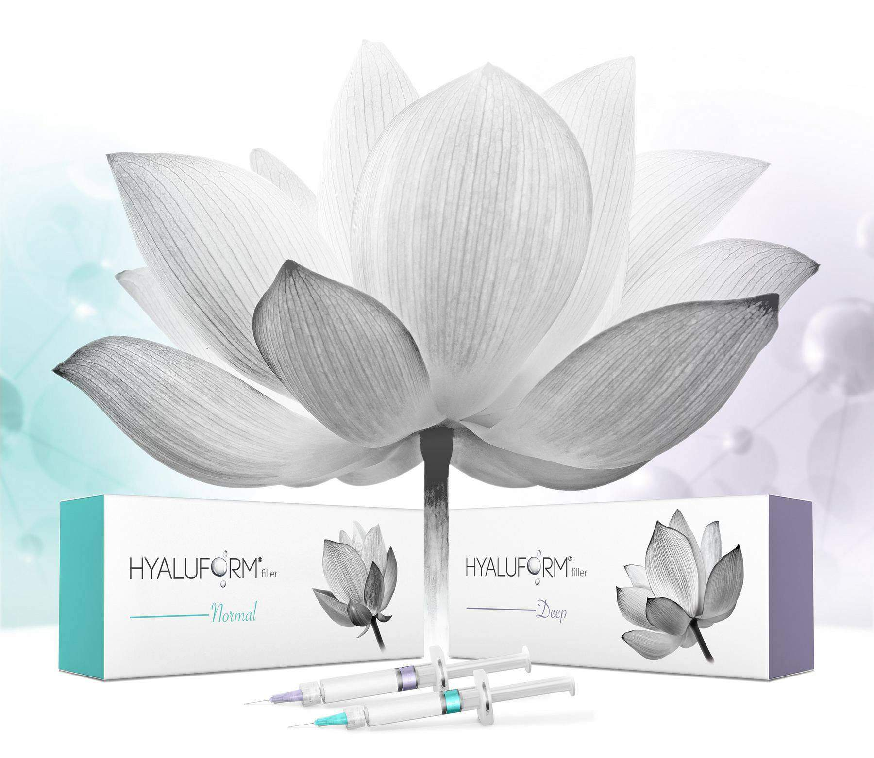 Hyaluform filler package design portfolio