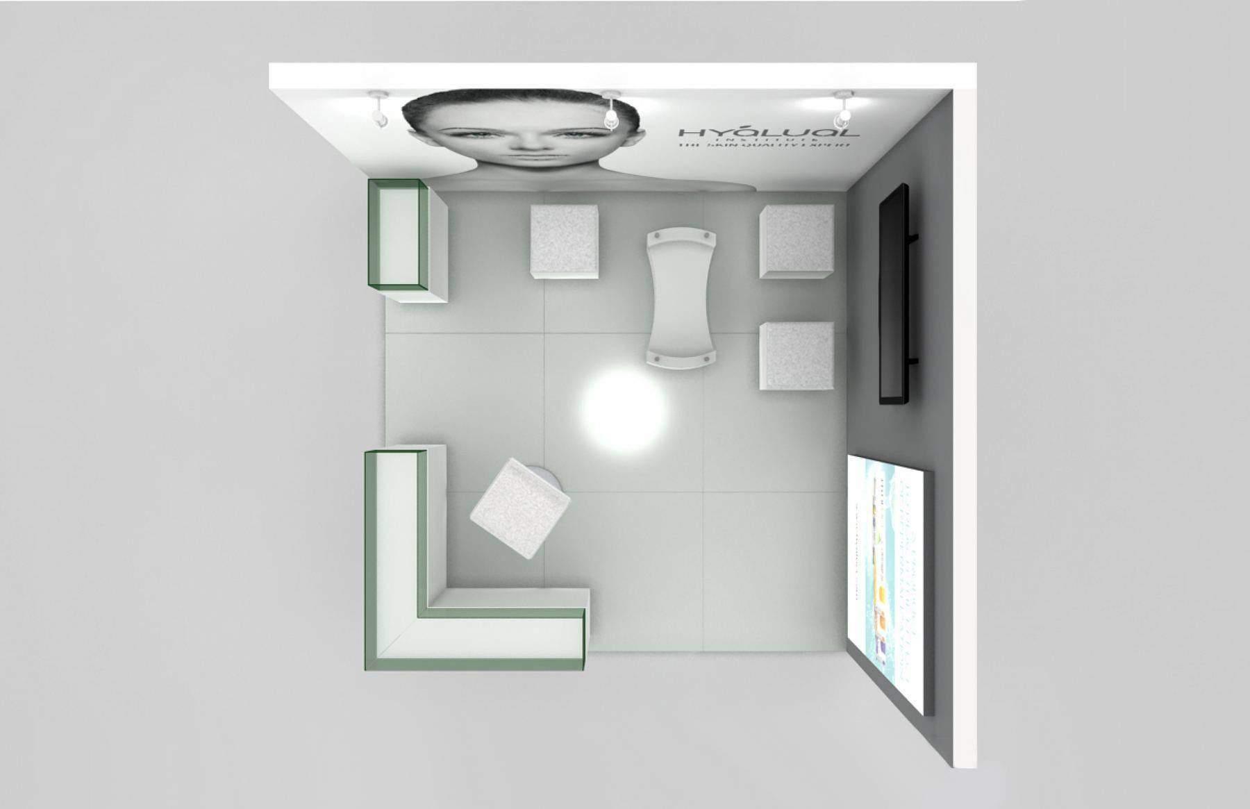 Разработка дизайна выставочного стенда портфолио