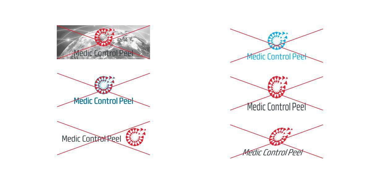 MCP peelings logo design portfolio