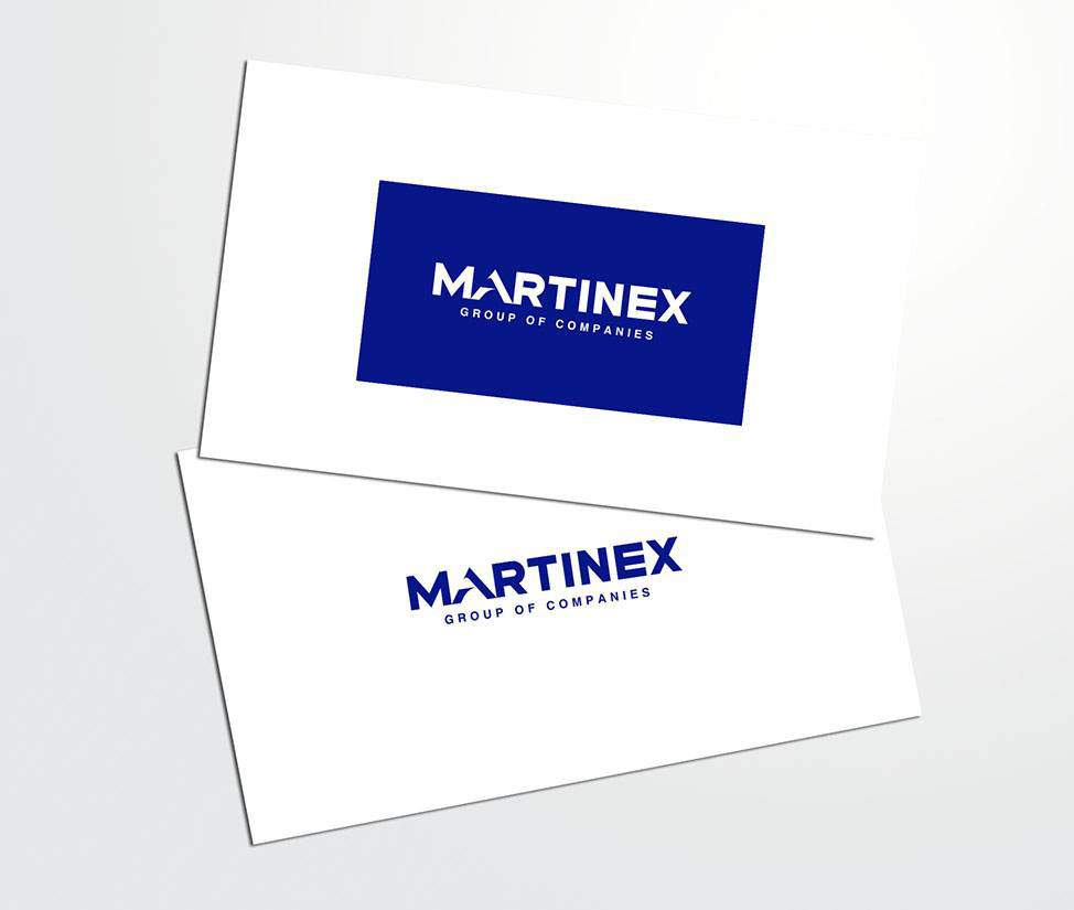 Martinex Group logo re-design portfolio