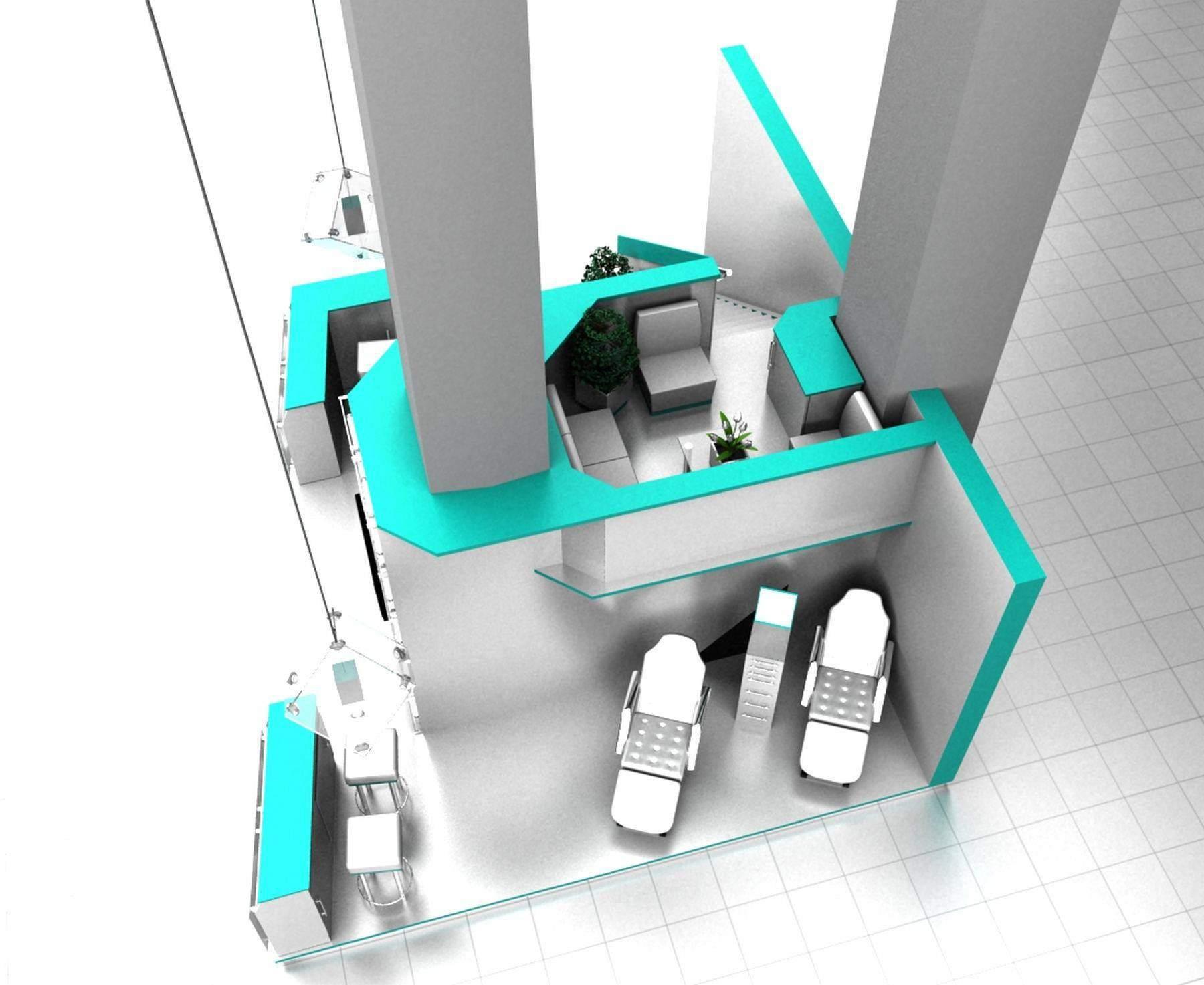 моделирование конструкции выставочного стенда портфолио