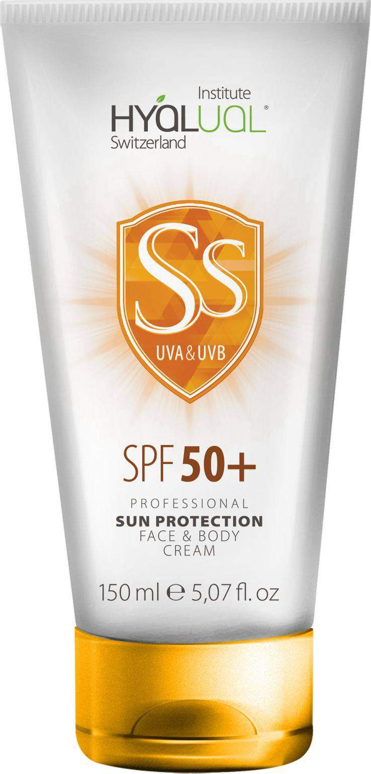 Sun protection creams label design portfolio