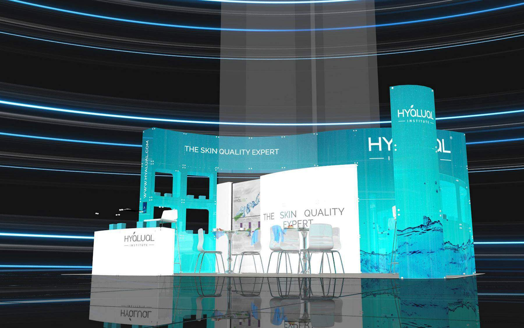Exhibition stand design and build portfolio