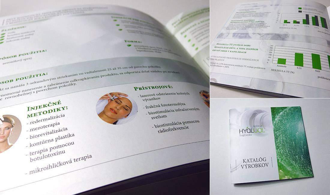 Разработка дизайна каталога Hyalual портфолио