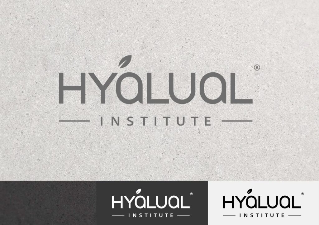 Рестайлинг логотипа Institute Hyalual Швейцария