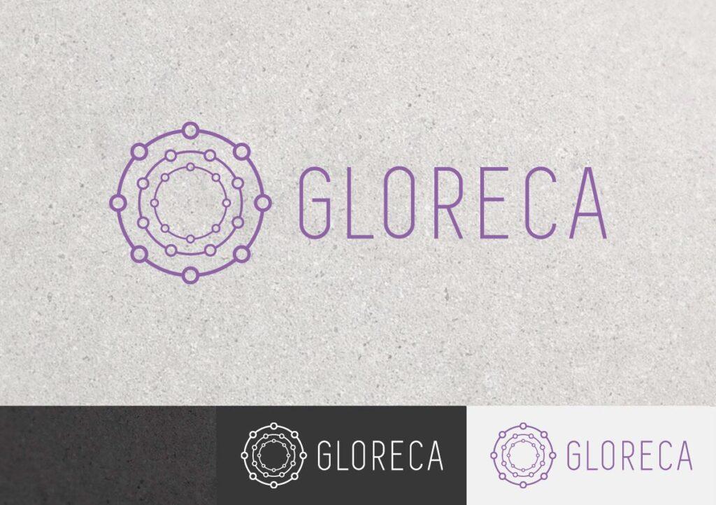 Разработка логотипа Gloreca