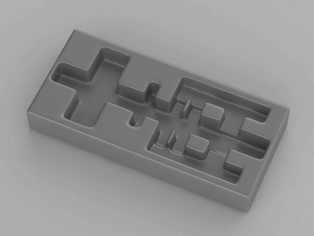 Разработка промышленного дизайна блистера для шприца портфолио