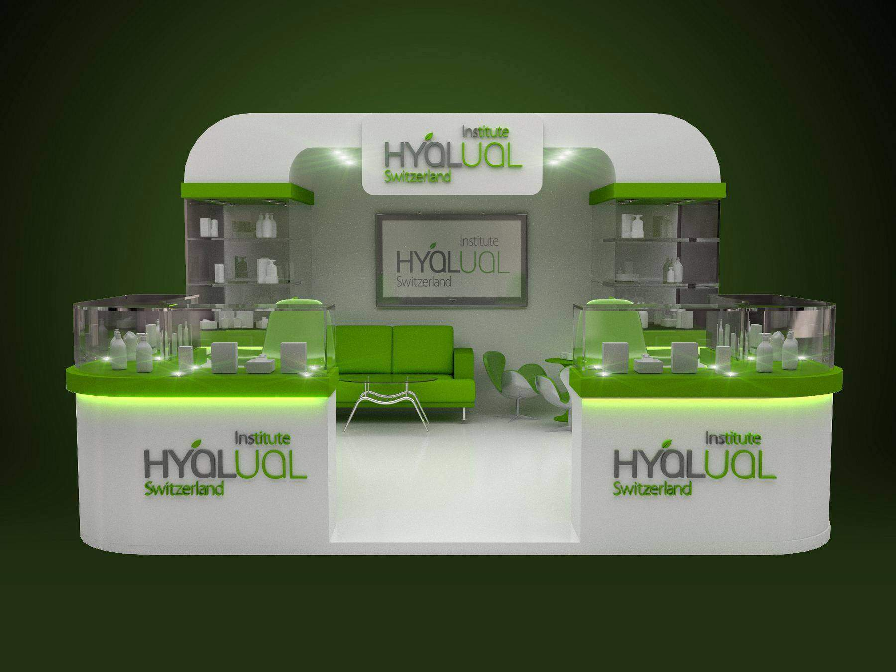 Exhibition stand design and modeling portfolio