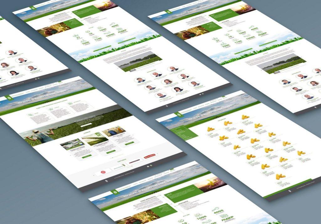 Создание корпоративного веб-сайта